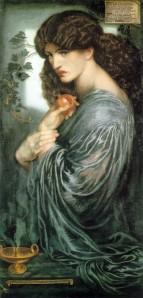 Proserpine | Dante Gabriel Rossetti | 1874