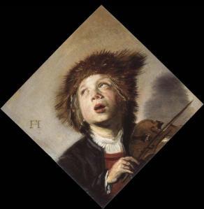 A boy with a violin | Frans Hals | 1625