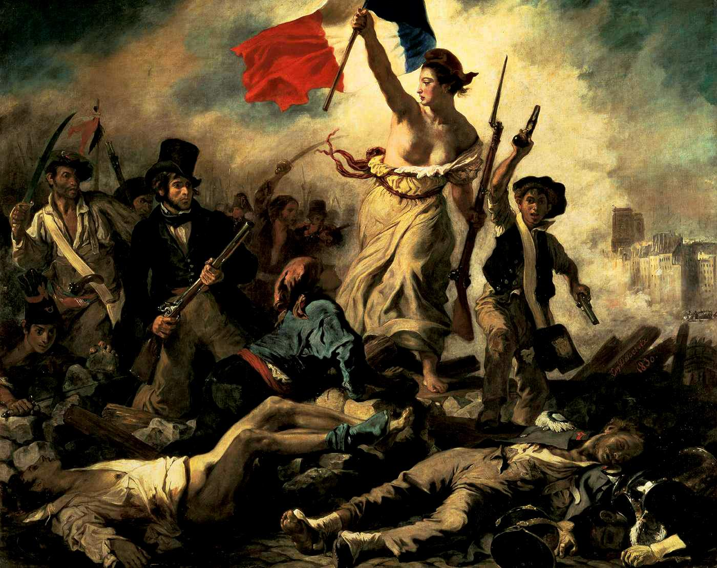 http://silverandexact.com/2012/02/03/liberty-leading-the-people-eugene-delacroix-1830/