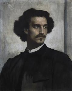 Self portrait   Anselm Feuerbach   1873