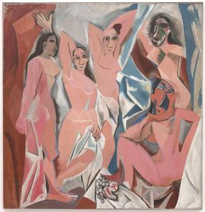Les demoiselles d'Avignon   Pablo Picasso   1907