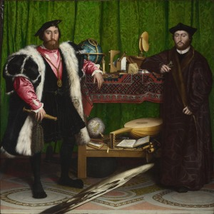 The ambassadors | Hans Holbein the Younger | 1533
