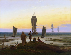The stages of life | Caspar David Friedrich | 1835