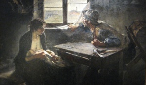 Without bread and without work | Ernesto de la Cárcova | 1893