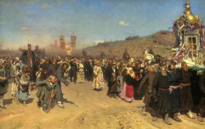 Religious procession in Kursk province | Illya Repin | 1883
