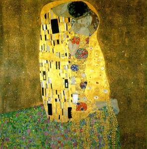The kiss | Gustav Klimt | 1908