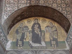 Byzantine mosaics | Ayasofia | Istanbul
