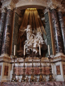"""The ecstasy of St Theresa"" by Bernini 