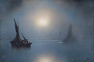 Moonlight | Joachim Hierschel-Minerbi (Prof. Van Hier) | Date unknown