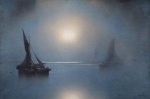 Moonlight | Joachim Hierschel-Minerbi (Prof. Van Hier) | Date unknown