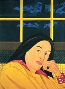 West interior | Alex Katz | 1979