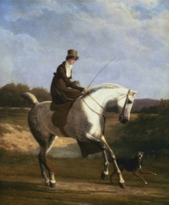 Miss Cazenove on a Gray Hunter | Jacques-Laurent Agasse | Beginning of 19th Century