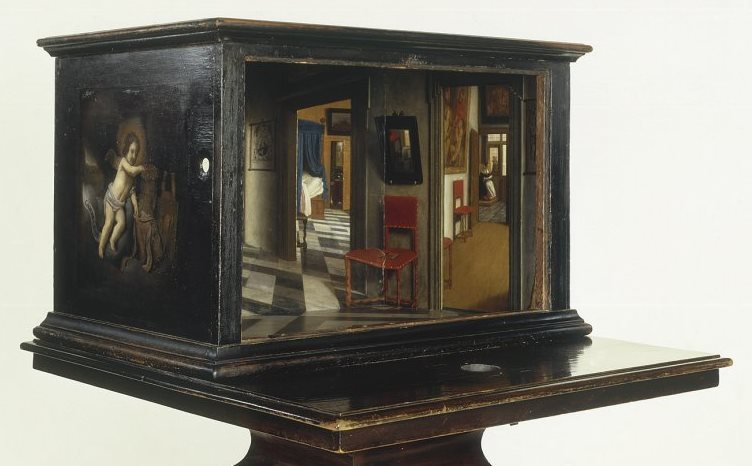 A View Down Corridor Samuel Van Hoogstraten 1662
