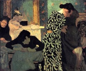 The flowered dress | Édouard Vuillard | 1891