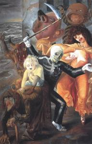 The seven deadly sins | Otto Dix | 1933