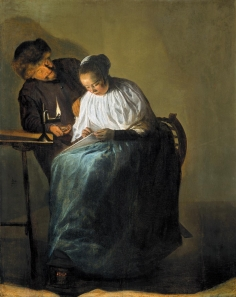 The proposition / The rejected offer | Judith Leyster | 1631