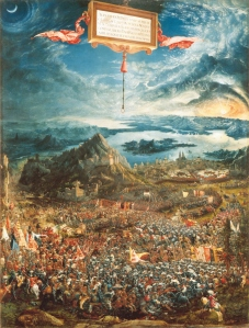 The battle of Alexander at Issus | Albrecht Altdorfer | 1529