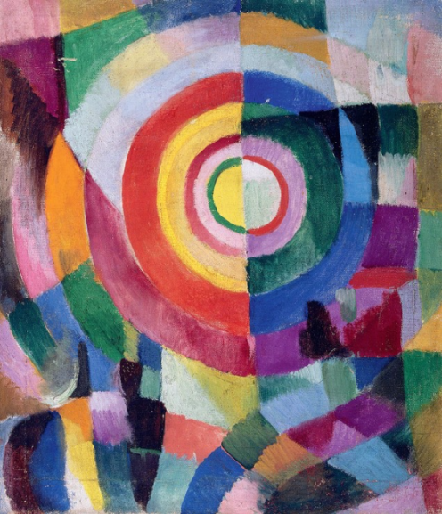 Electric Prisms No 14 - Sonia Delaunay - 1914